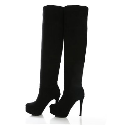 ENMAYER Bigsize 34-43 New 2015 Women Over-the-Knee Boots For Women