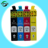 Compatible ink cartridge for Epson 178 T1781/T1772/T1773/T1774 for Expression Home XP-30/102 printer
