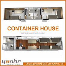 Prefabricate Container House With Finished Furnitures For Dwelling Accommodation