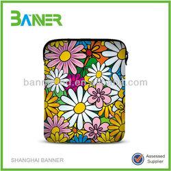 New design trendy ladies neoprene zipper fancy laptop bags