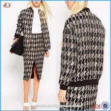 Customized Latest Stylish Best Quality Women Bomber Camo Jacket Wholesale