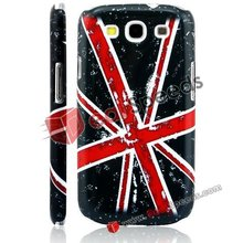 Retro and Personality UK Flag Pattern Hard Case for Samsung Fascinate Phone Covers Galaxy S3 (Black)