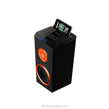 Powerful and professional active stage speaker, karaoke, concert, with USB, SD, FM, Bluetooth