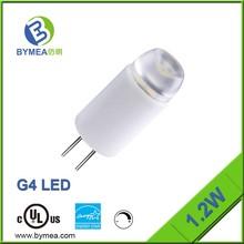 1W 10-36V White Cover Ceramic Housing High Output Led Mini Bulb G4