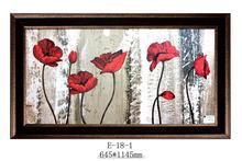 Mural digital frame good quality latest design of photo frame plastic ornate frame