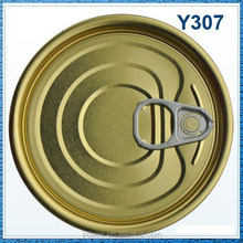 307# Tinplate Easy Open end lid for Corned beef and mutton ,tomato