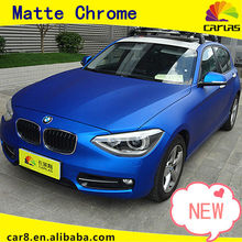 Car Wrapping sticker matte chrome vinyl film