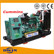 Open type diesel generator set powered by cummins engine