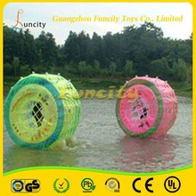 PVC/TPU inflatable water roller,water walking roller, human lawn roller