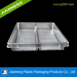 Plastic cake boxes with lid