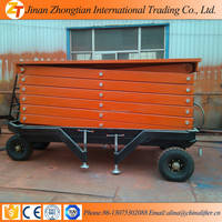 4M High Quality 100% Brand New Factory Prices Hydraulic Movable Aerial man lift electric movable scissor lift tables