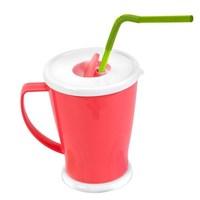 Plastic Milk Cups For Kids Microwave Safe 270ml