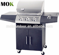 united professional portable stainless barbecue stainless steel gas bbq grill