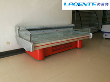 fresh meat showcase, single-temp type chest type is... refrigerator meat display chiller