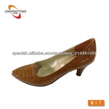 Roca de grano 2014 señaló los zapatos de vestido del dedo del pie