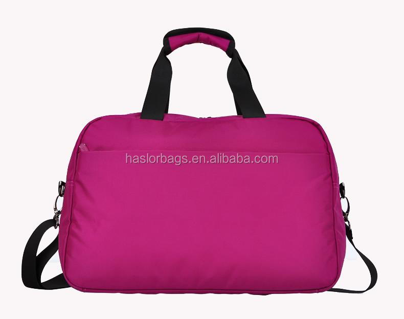 Coloré personnalisé à la mode voyage éminent sac avec de haute qualité