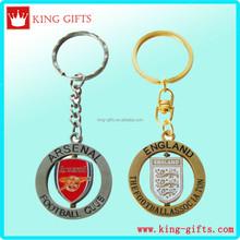 3D zinc alloy Metal arsenal football club key chain