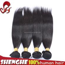 Finest quality premium human hair Cambodian cheap straight human hair weft