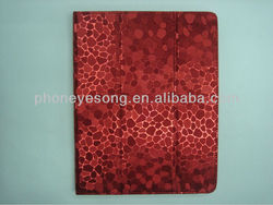 High quality leather smart cover case for ipad 2 3 4