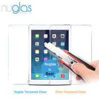 Nuglas Brand 9h milo Tempered Glass Screen Protector for iPad Pro, for iPhone 6 with Custom Printing