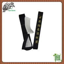 embroidery high quality Martial arts taekwondo equipment taekwondo belt colors for sale
