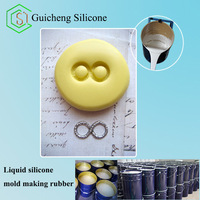 Metal alloy art crafts molds making silicon rubber