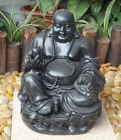 Fiberstone carved buddhas