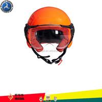 Colorful german style motorcycle half face helmet
