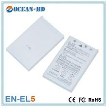 EN-EL5 for Nikon flat shaped rechargeable 1100mah 3.7v battery