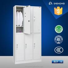 gym steel locker double color wardrobe design furniture bedroom metal cabinet locker