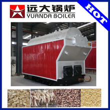 Saving 50% cost compare with coal, gas oil Industrial automatically biomass hot water boiler