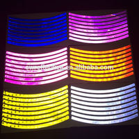 colourful safety dongguan reflective stickers bike