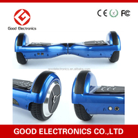 2015 Smart new products 6.5 inch 2 wheel self balancing electric scooter with LG batteries, electric hoverboard