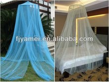 100% Polyester Round Circular Mosquito Net for double and single bed