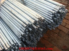 BS 21 Galvanized round ERW steel fence posts for sale