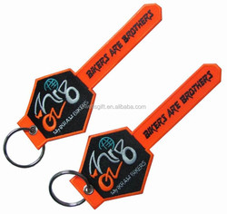 Embroidered Patch Embroidery Patch Fashion key rings fobs