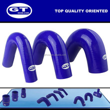 auto rubber silicone hose pipe/high working pressure and high temperature radiator hose/135 degree elbow silicone rubber hose