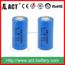 1/2 aa 3.0v lithium battery cr14250 cr14250se