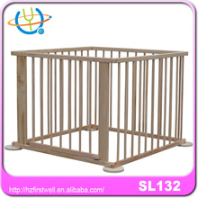 good baby play pen/wooden babyplaypen/square playpen for baby