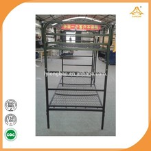 Mesh wire Detachable Bunk Bed,Folding Bunk Bed,Separable Bunk Bed which could be separated into 2 single bed