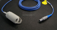 For Mindray SpO2 Sensor Adult Finger Clip with 3 meter, CE FDA and ISO 13485 Approved