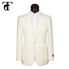men's suits 65% Polyester & 35% Viscose classic fit blazer Single Breasted straight facing