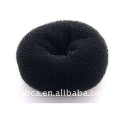 finely processed Hair sponge bun