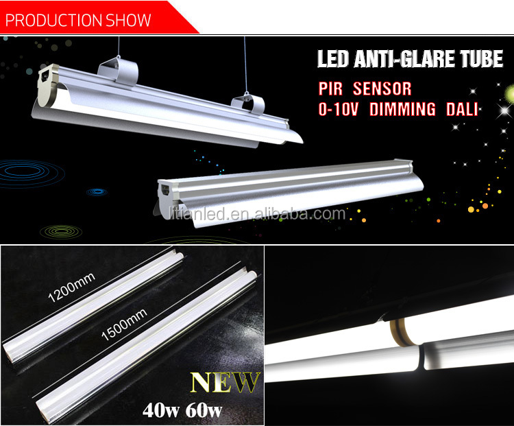 4ft led tube light fixture led hanging tube light rigid led light bar. Black Bedroom Furniture Sets. Home Design Ideas