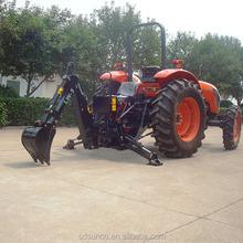LW excavadora para tractor, alta eficiencia pequeño retroexcavadoras venta, CE aprobó puntos enganche retroexcavadora