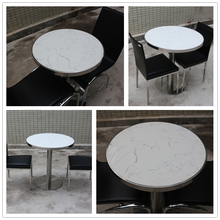 Solid surface restaurant table and chair dinning room furniture