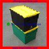 Stackable 50kgs Moving Plastic Office Design Containers With Lids