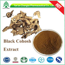 100% natural herbal extract 2.5%-8.0% Triterpene Black Cohosh Root Extract