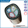 0.6/1kv low voltage cable Al/XLPE/STA/PVC 3*95mm2+1*50mm2 wire cable factory price