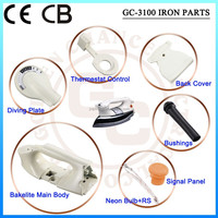 Electric dry iron parts accessories fittings iron CKD, SKD